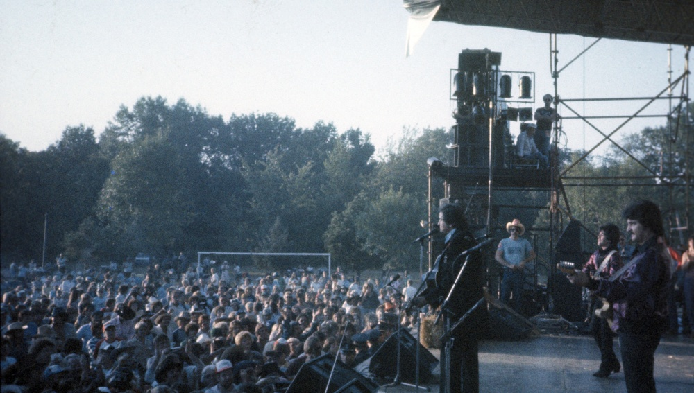 Johnny Cash Belleville, Mi 1983